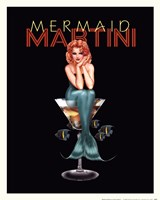Mermaid Martini Fine-Art Print