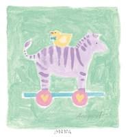 Zebra Toy Fine-Art Print