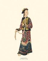 Chinese Mandarin Figure V Fine-Art Print