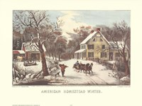 American Homestead Winter Fine-Art Print