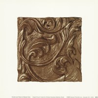 Copper Leaf Frieze Fine-Art Print