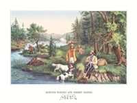 Hunting Fishing & Forest Scenes Fine-Art Print