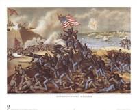 Storming Fort Wagner Fine-Art Print