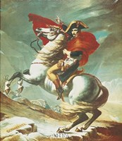 Bonaparte at Mont St. Bernard Fine-Art Print