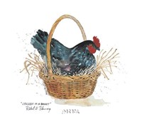 Chicken in a Basket Fine-Art Print