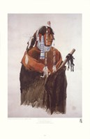 Mandeh-Pahchu, Mandan Man Fine-Art Print