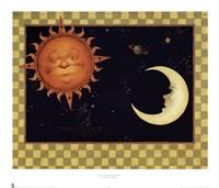 The Sun & Moon & Stars Fine-Art Print