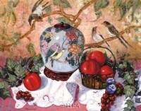 Grapes and Pomegranates Fine-Art Print