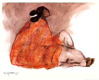 Seated Woman Fine-Art Print