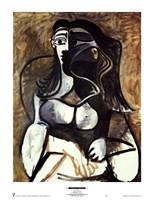 Woman in an Armchair Fine-Art Print