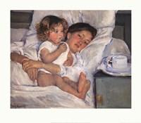 Breakfast in Bed Fine-Art Print