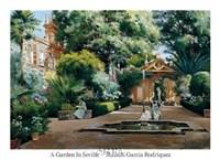 A Garden in Seville Fine-Art Print