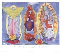 La Virgen De Guadalupe Fine-Art Print