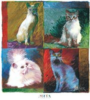 Cats, Montage Fine-Art Print