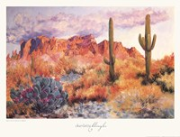 Superstition Sunset in March Fine-Art Print
