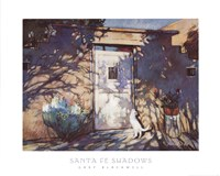 Santa Fe Shadows Fine-Art Print