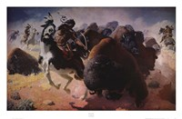 Buffalo Hunt Fine-Art Print