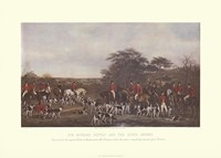 Sir Richard Sutton and the Quorn Hounds Fine-Art Print
