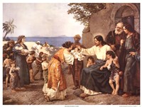 Christ Blessing the Children Fine-Art Print