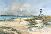 By the Lighthouse Fine-Art Print