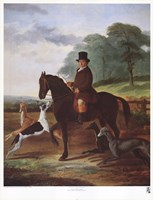 Huntsman with his Greyhounds Fine-Art Print