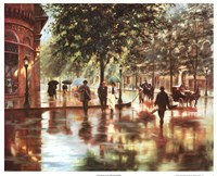 Spring Showers, London Fine-Art Print