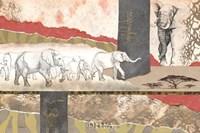Serengeti Elephants Fine-Art Print