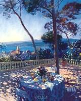 La Terrasse sur St. Tropez Fine-Art Print