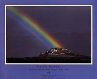 Rainbow Over The Potala Palace Fine-Art Print