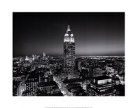 Empire State Building at Night Fine-Art Print