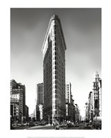 New York, New York, Flatiron Building Fine-Art Print