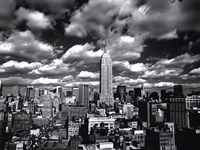 New York, New York, Sky Over Manhattan Fine-Art Print