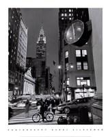 Chrysler Clock, Madison Avenue Fine-Art Print