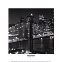 New York, New York, Brooklyn Bridge Fine-Art Print
