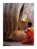 The Hand of Buddha Fine-Art Print