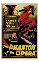 The Phantom of the Opera Lon Chaney Wall Poster
