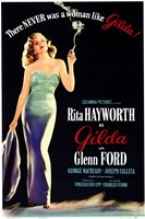 There Was Never a Woman Like Gilda Wall Poster