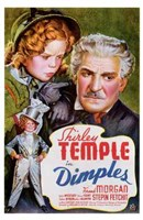 Dimples Frank Morgan Wall Poster