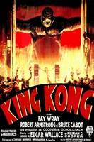 King Kong Tribal Wall Poster