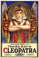 Cleopatra The da Bara Wall Poster