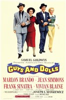 Guys and Dolls Brando Simmons Sinatra Blaine Fine-Art Print