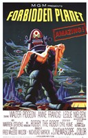Forbidden Planet - style A Wall Poster