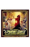 The Phantom of the Opera Square Wall Poster