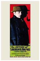 The Return of Sherlock Holmes Wall Poster