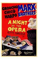A Night At the Opera Groucho Chico Harpo Fine-Art Print