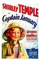 Captain January Wall Poster
