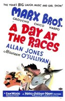 Day At the Races - Marx Bros. Wall Poster