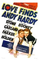 Love Finds Andy Hardy Wall Poster