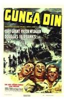 Gunga Din Wall Poster