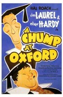 Chump At Oxford  a Wall Poster